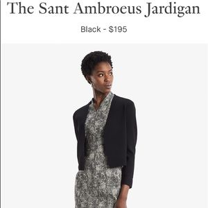 MM LAFLEUR The Sant Ambroeus Jardigan